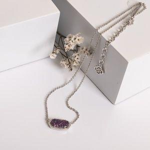 Kendra Scott Jewelry - Kendra Scott Elisa Necklace Multicolor Drusy